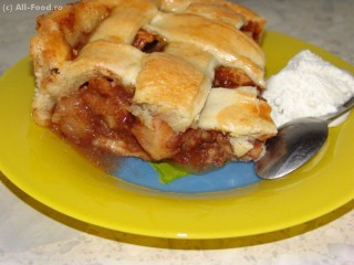 American Apple Pie – Placinta cu mere